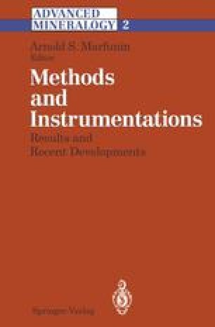 Methods and Instrumentations: Results and Recent Developments