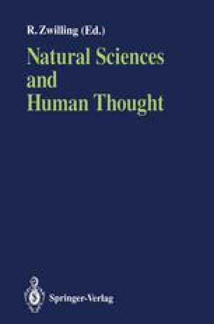 Natural Sciences and Human Thought