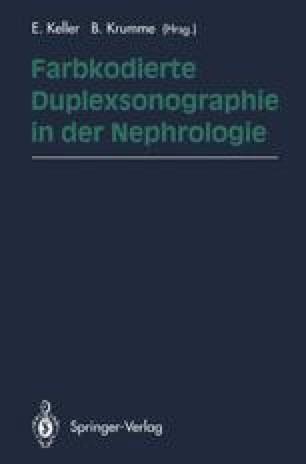 Farbkodierte Duplexsonographie in der Nephrologie