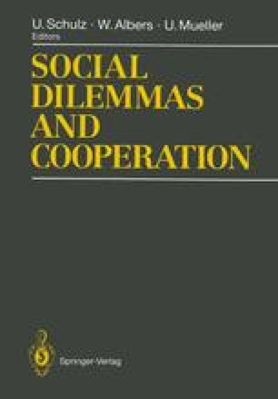 Social Dilemmas and Cooperation