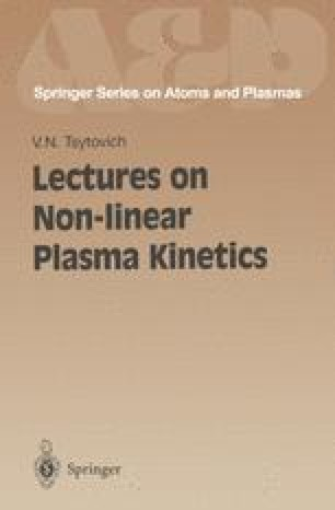Lectures on Non-linear Plasma Kinetics