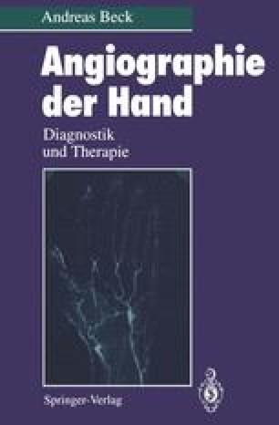 Angiographie der Hand