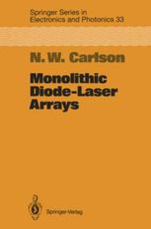 Monolithic Diode-Laser Arrays