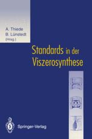 Standards in der Viszerosynthese