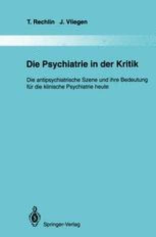 Die Psychiatrie in der Kritik