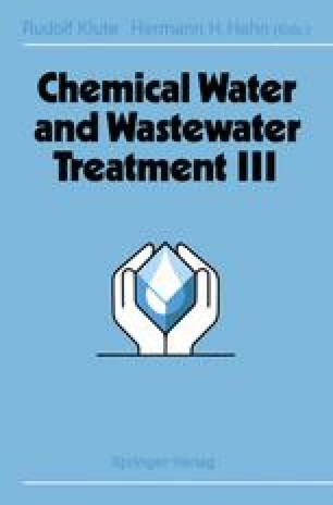 Chemical Water and Wastewater Treatment III