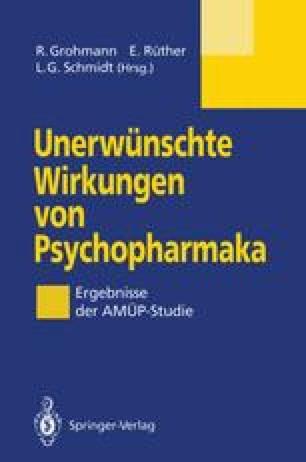 Unerwünschte Wirkungen von Psychopharmaka