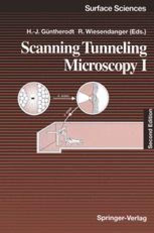Scanning Tunneling Microscopy I