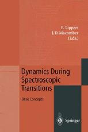Dynamics During Spectroscopic Transitions