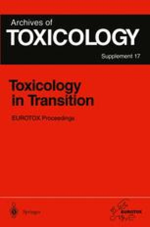 Toxicology in Transition