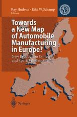 Towards a New Map of Automobile Manufacturing in Europe?