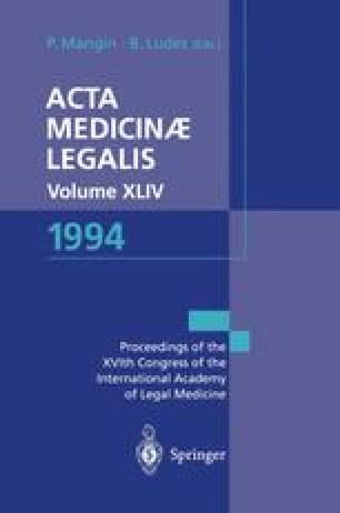 Acta Medicinæ Legalis Vol. XLIV 1994