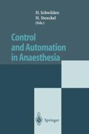 Control and Automation in Anaesthesia
