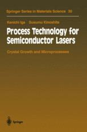 Process Technology for Semiconductor Lasers