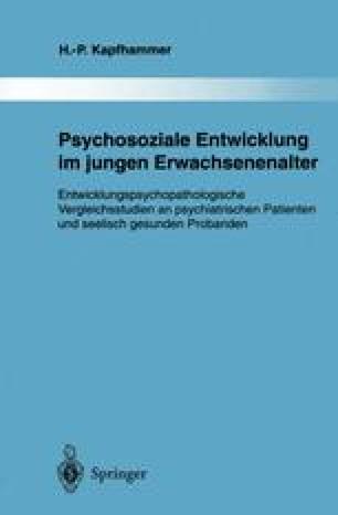 Psychosoziale Entwicklung im jungen Erwachsenenalter