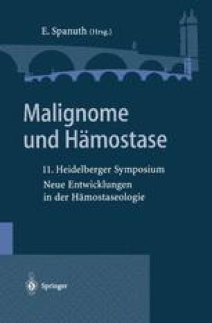 Malignome und Hämostase