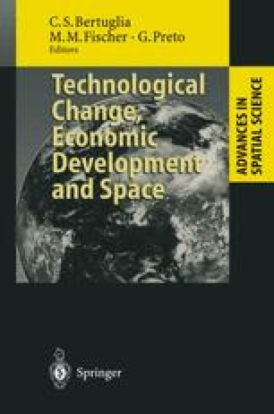 Technological Change, Economic Development and Space