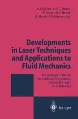 Developments in Laser Techniques and Applications to Fluid Mechanics