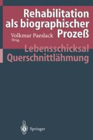 Rehabilitation als biographischer Prozeß