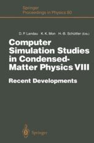 Computer Simulation Studies in Condensed-Matter Physics VIII