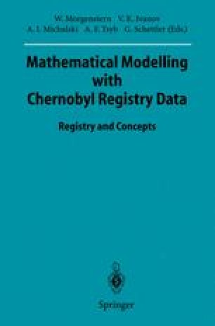 Mathematical Modelling with Chernobyl Registry Data
