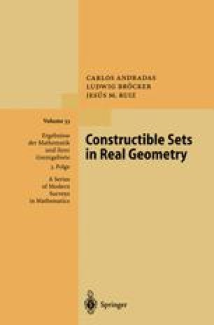 Constructible Sets in Real Geometry