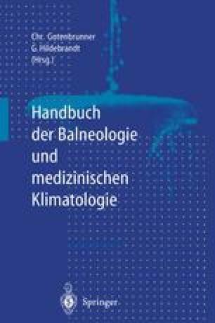 Handbuch der Balneologie und medizinischen Klimatologie
