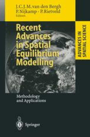 Recent Advances in Spatial Equilibrium Modelling