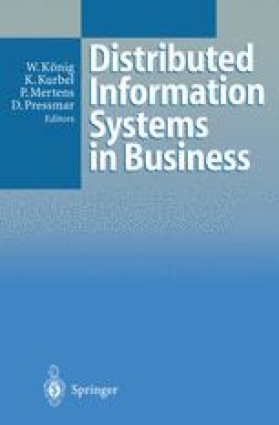 Distributed Information Systems in Business