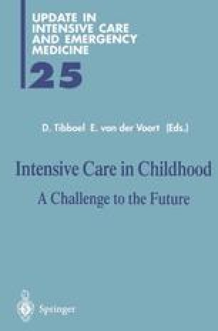 Intensive Care in Childhood