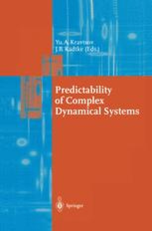 Predictability of Complex Dynamical Systems