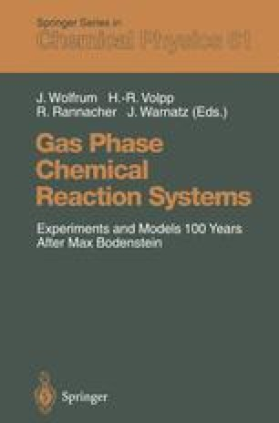 Gas Phase Chemical Reaction Systems