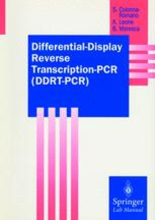 Differential-Display Reverse Transcription-PCR (DDRT-PCR)