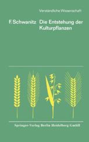 Die Entstehung der Kulturpflanzen