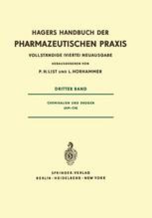 Chemikalien und Drogen (Am–Ch)