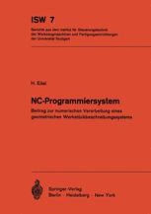 NC-Programmiersystem