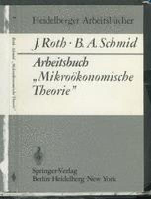 """Arbeitsbuch """"Mikroökonomische Theorie"""""""