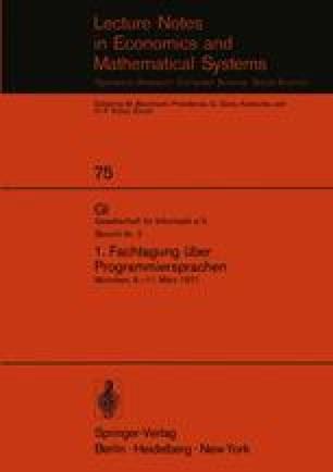 Implementation of the Programming Language Pascal | SpringerLink