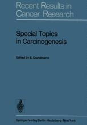 Special Topics in Carcinogenesis