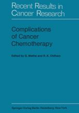 Complications of Cancer Chemotherapy