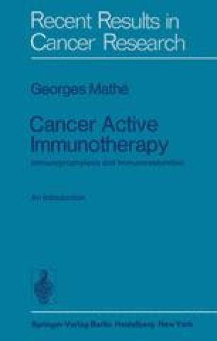 Cancer Active Immunotherapy