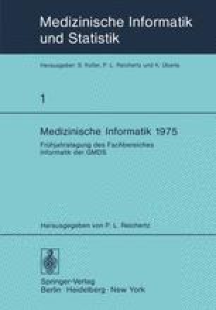 Medizinische Informatik 1975