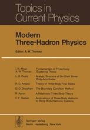 Modern Three-Hadron Physics
