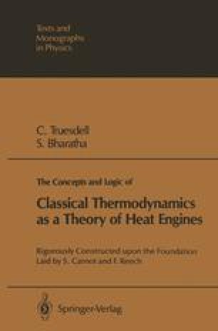 The Concepts and Logic of Classical Thermodynamics as a Theory of Heat Engines