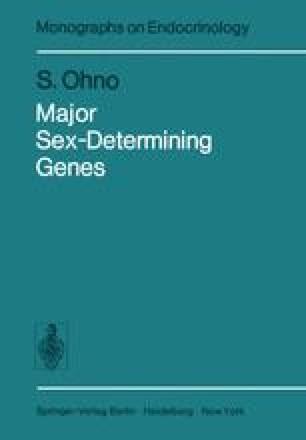 Major Sex-Determining Genes