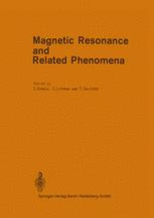 Magnetic Resonance and Related Phenomena