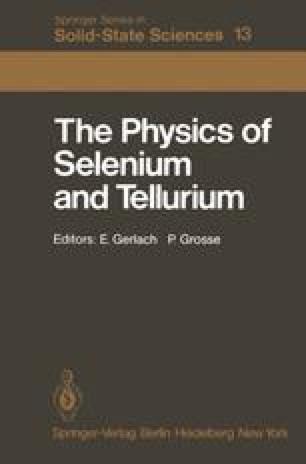 The Physics of Selenium and Tellurium