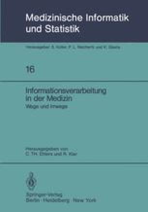 Informationsverarbeitung in der Medizin