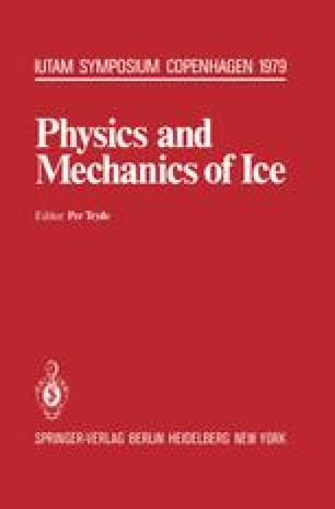 Physics and Mechanics of Ice
