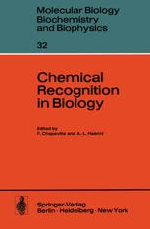 Chemical Recognition in Biology